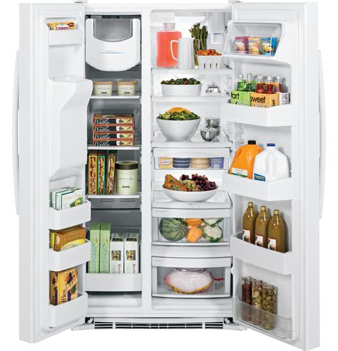 ge  cu ft side  side refrigerator gssgghww  appliances