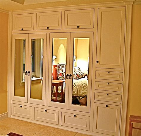Bedroom Wall Closet by Adore This Handmade Custom Built In His Hers Closets