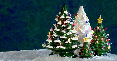 find  ceramic christmas tree   york times