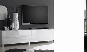 Meuble Tv Blanc Design