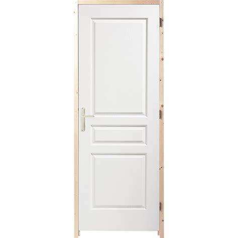 largeur porte chambre bloc porte postformé postformé h 204 x l 83 cm poussant