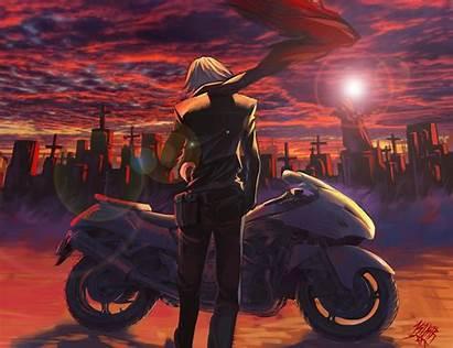 Anime Bike Motorcycle Guy Stunt Boy Vehicle