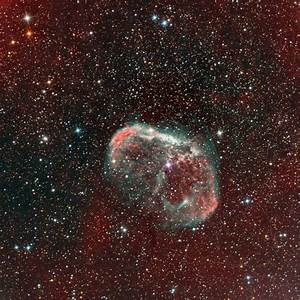 The Crescent Nebula in Cygnus