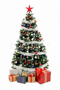 Christmas tree on white with presents stock photo © Jozsef ...