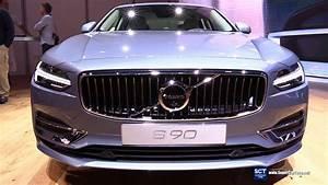 Volvo S90 2017 : 2017 volvo s90 t8 inscription exterior and interior walkaround debut at 2016 detroit auto ~ Medecine-chirurgie-esthetiques.com Avis de Voitures