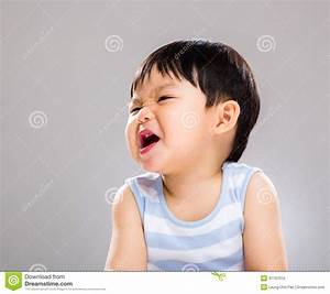 Asian Baby Boy With Funny Face Stock Photo - Image: 41197010