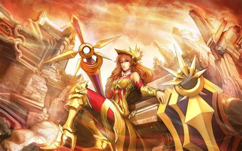 Anime League Of Legends Wallpaper - league of legends leona anime wallpapers hd desktop