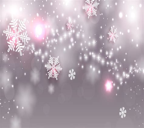 Silver Pink Snowflake Background by 23 Snowflakes Wallpapers Snow Backgrounds Pictures