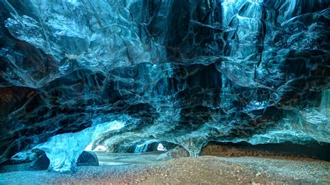 Hd Wallpaper Northern Lights Ice Cave Tours Iceland Vatnajökull Round The World We Go