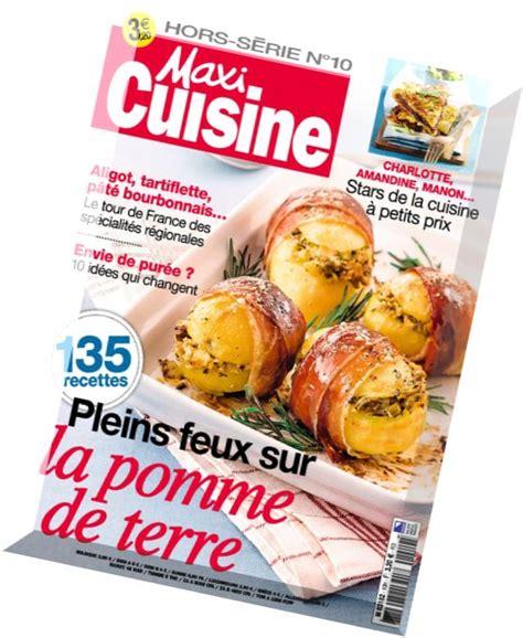 maxi cuisine magazine maxi cuisine hors serie n 10 pdf magazine