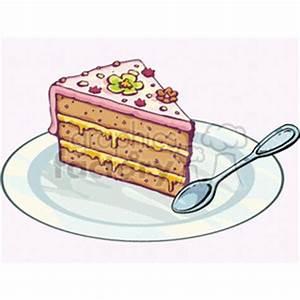 Birthday Cake Slice Clipart (49+)