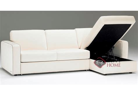 Leather Sectional Sleeper Sofa With Chaise by Sangro B764 Leather Chaise Sectional By Natuzzi Is Fully