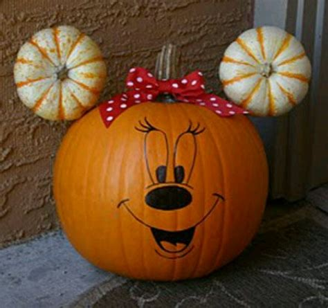 mickey mouse pumpkin ideas mickey mouse pumpkin fall activities holidays pinterest