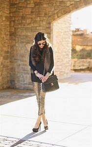 Sequin Pants Leggings
