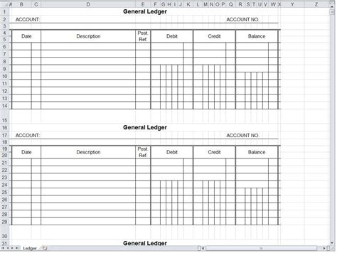 accounting ledger template free template accounting worksheet sle customer service resume general printable business