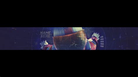 (free) Fortnite Youtube Banner Template By Aronrege On