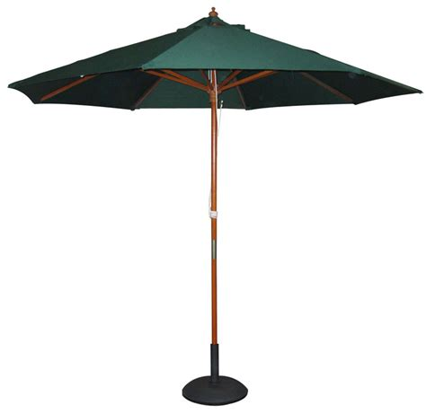 garden parasol base green black or parasol umbrella with