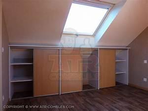 Meuble Pour Comble : meuble pour combles meilleures images d 39 inspiration pour ~ Edinachiropracticcenter.com Idées de Décoration