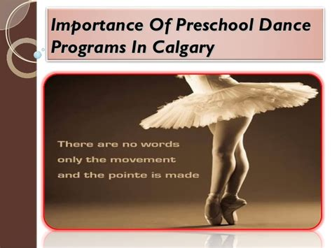 importance of preschool programs in calgary 852   importance of preschool dance programs in calgary 1 638