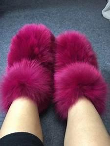fashion eskimo winter big fluffy boots fox fur