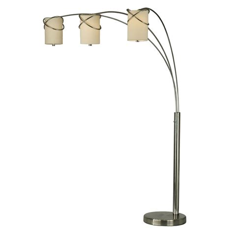 Contemporary Multi Shade Chrome Arm Floor L by Shop Lighting 84 In Polished Chrome Multi Floor