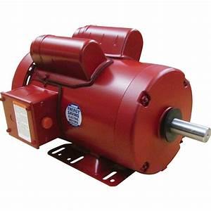 Leeson Farm Duty Electric Motor  U2014 2 Hp  1725 Rpm  230
