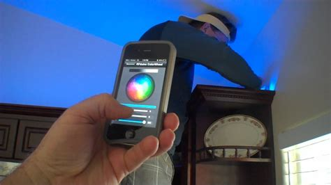 iphone of rgb lights with rfduino arduino ble