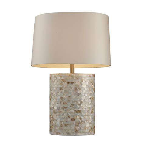 mother of pearl table l dimond lighting d1413 sunny isles table l mother of
