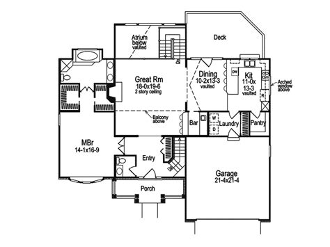 house floor plans  atrium house floor plans  measurements atrium home designs