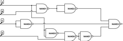 Digital Logic Create Circuit With Max Nand Gates