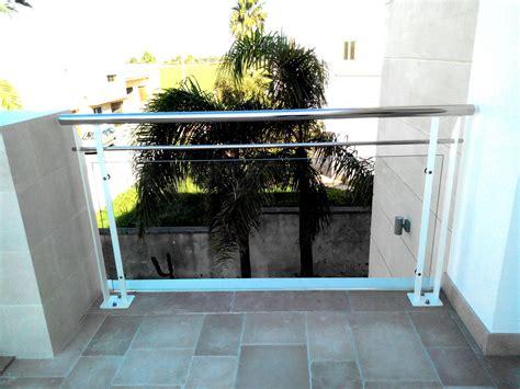 ringhiera in vetro e acciaio ringhiera in ferro acciaio e vetro ab serramenti