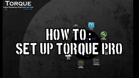 How To Set Up Torque Pro Youtube