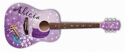 Montana Hannah Guitar Acoustic Washburn Disney Glitter