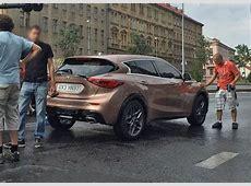 Production Infiniti Q30 Spied in Prague