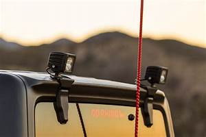 Kc Light Kit Go Rhino 599502t Rear Liftgate Window Hinge Light Mount