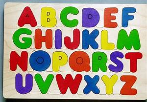 educational wooden puzzles wooden jigsaw puzzles wood With alphabet letter puzzles