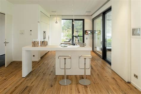 hardwood floors in kitchen haus js contemporary kitchen hanover by husnik 4160