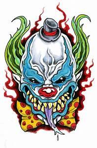 Evil+Clown+by+scottkaiser.deviantart.com+on+@deviantART ...