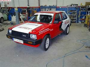 Toyota Starlet 1 6 Twin Cam Trasera