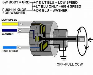 Need Help With 67 Wiper Switch  Motor Wiring