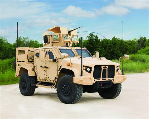 U.s. Military Says Goodbye To Humvee With New Oshkosh Jltv