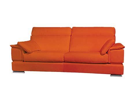 canapé orange canapé cuir neat canape2places com