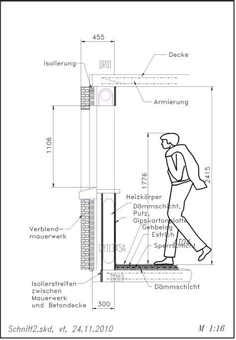 Technische Zeichnung Fenster by Fenster 2