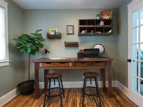 diy rustic office desk cozy workspaces home offices with a rustic touch