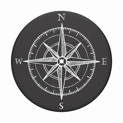 Compass Popsockets Popgrip Poptop Ow Tattoo Phone