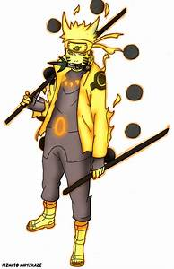 Naruto Sage Of The Six Paths by 4thminatonamikaze on ...