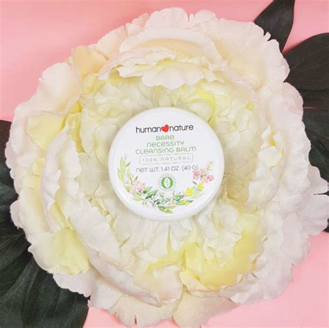 human nature bare necessity cleansing balm review style