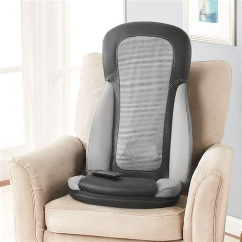 Brookstone Chair Back Massager by Shiatsu Seat Massager With Heat At Brookstone Buy Now
