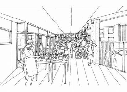 Nursing Balcony Sketch Drawing Client Wantirna Maria