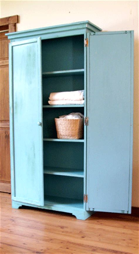 built in kitchen cabinet diy armoire going to modify this and build it as a linen 4987